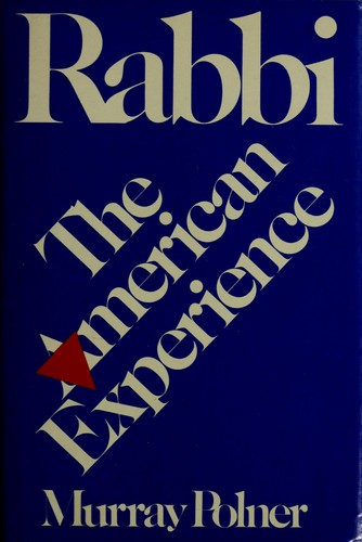 Rabbi by Murray Polner