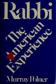 Cover of: Rabbi by Murray Polner