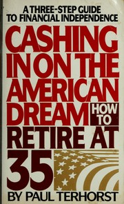 Cover of: Cashing in on the American dream | Paul Terhorst
