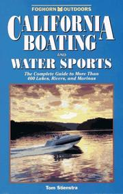 Cover of: California Boating and Water Sports | Tom Stienstra