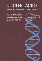 Cover of: Nucleic acids | Victor A. Bloomfield