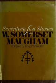 Cover of: Seventeen Lost Stories | W. Somerset Maugham