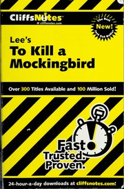 Cover of: Cliffsnotes to kill a mockingbird | Tamara Castleman