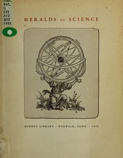 Cover of: Heralds of science by Burndy Library.