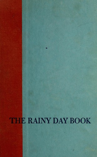 The rainy day book by Alvin Schwartz