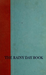 Cover of: The rainy day book | Alvin Schwartz