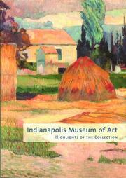 Cover of: Indianapolis Museum of Art by Indianapolis Museum of Art.