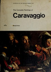 Cover of: The complete paintings of Caravaggio | Michelangelo Merisi da Caravaggio