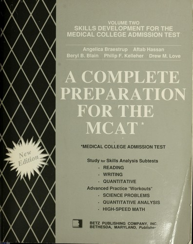A Complete preparation for the MCAT by