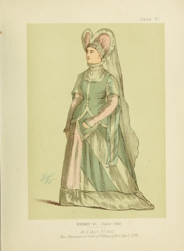 English costume and fashion from the conquest to the regency (A.D. 1070-1820) by Lewis Wingfield