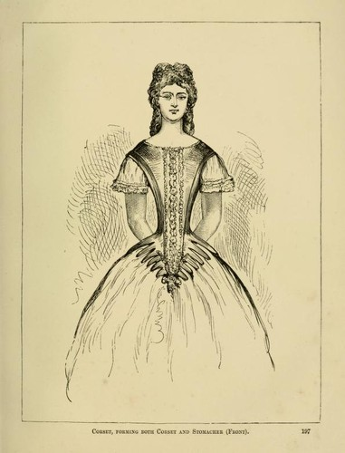 The corset and the crinoline by William Barry Lord