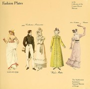 Cover of: Fashion plates in the collection of the Cooper-Hewitt Museum, the Smithsonian Institutions's National Museum of Design by Cooper-Hewitt Museum.