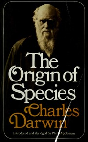 Cover of: On the origin of species by means of natural selection | Charles Darwin