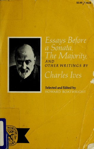 essays before a sonata the majority and other writings Download and read essays before a sonata the majority and other writings essays before a sonata the majority and other writings when writing can change your life, when writing can enrich you by offering much money, why don't you try it.