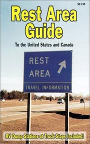 Cover of: Rest Area Guide to the United States and Canada by Bill Cima