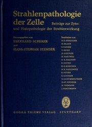 Cover of: Strahlenpathologie der Zelle by Eberhard Scherer