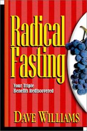 Cover of: Radical Fasting by Dave Williams
