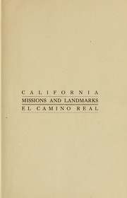 Cover of: California missions and landmarks | Forbes, A. S. C. Mrs.