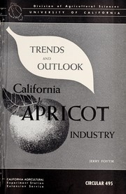 Cover of: California apricot industry by Jerry Foytik
