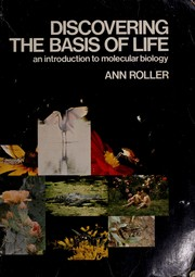 Cover of: Discovering the Basis of Life by Ann Roller-Massar