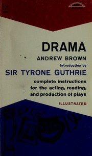 Cover of: Drama by Brown, Andrew