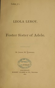 Cover of: Leola Leroy by Jennie M. Harrison