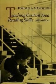 Cover of: Teaching content area reading skills by Harry W. Forgan