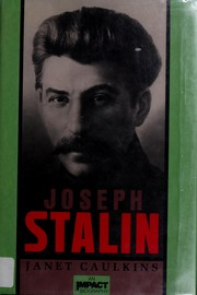 Cover of: Joseph Stalin by Janet Caulkins