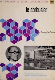 Cover of: Le Corbusier by Françoise Choay