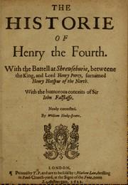 King Henry IV. Part 1