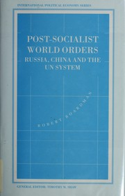 Cover of: Post-socialist world orders | Robert Boardman