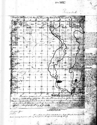 Illinois township plats by Illinois. Archives. Land Records.