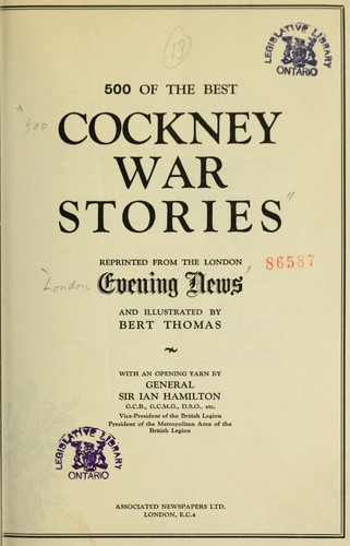 500 of the best Cockney war stories by