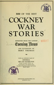 Cover of: 500 of the best Cockney war stories by