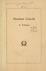 Cover of: Abraham Lincoln | Maggie Blauvelt Carr