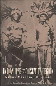 Cover of: Indian Life of the Yosemite Region | S. A. Barrett