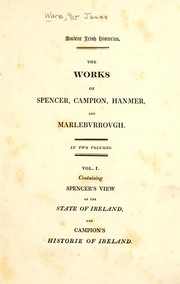Cover of: Historie of Ireland | Ware, James Sir