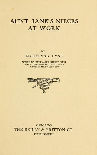 Aunt Jane's nieces at work by L. Frank Baum