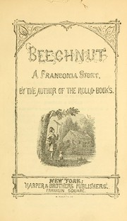 Cover of: Beechnut by Jacob Abbott