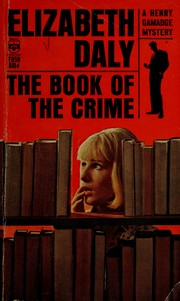 Cover of: The Book of the Crime | Elizabeth Daly