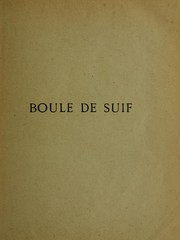Cover of: Boule de suif by Guy de Maupassant
