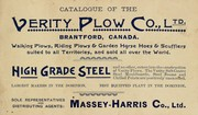 Catalogue of the Verity Plow Co., Ltd