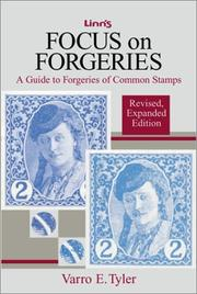 Cover of: Focus on forgeries by Varro E. Tyler