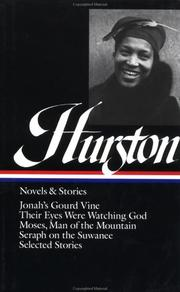 Cover of: Novels and stories | Zora Neale Hurston