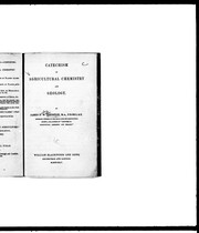 Cover of: Catechism of agricultural chemistry and geology by James Finley Weir Johnston