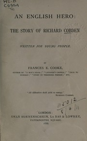 Cover of: An English hero by Frances E. Cooke