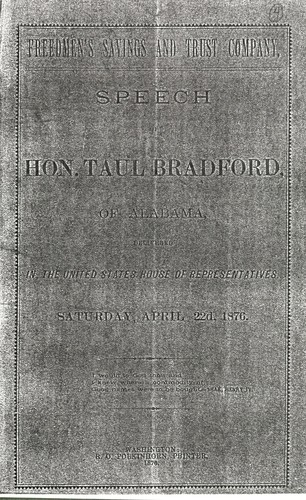 Freedman's Savings and Trust Company by Taul Bradford