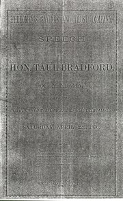 Cover of: Freedman's Savings and Trust Company by Taul Bradford