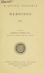 Cover of: Heroides | Ovid