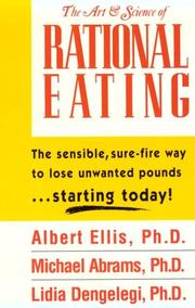 Cover of: The art & science of rational eating | Albert Ellis